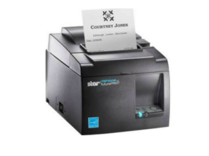Impresora térmica directa Star Micronics TSP143IIIU GRY US - Monocromo - 203 dpi - 72mm (2.83_) Ancho de Impresión - USB (2